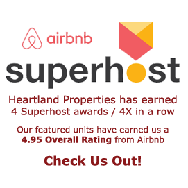 Airbnb Superhost Recognized - 4 years in a row
